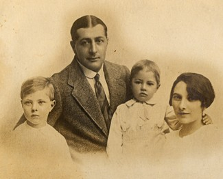 Buster, Grandfather, Harry and Grandmother -