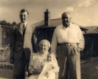 Buster, Great Grandmother, Jennifer and Grandfather -