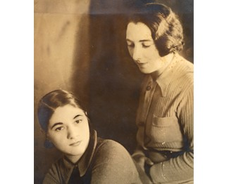 Aunt Joyce and Grandmother Frieda -