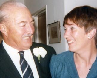 Dad and Sue at Harry's Wedding -