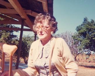 Joyce at Highlands Farm -